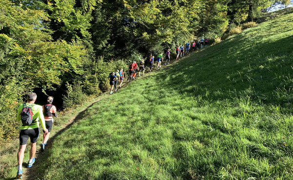 The first steeper inclines – this place is no joke!