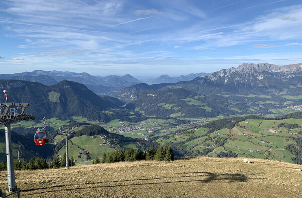 So that's part of Austria seen from 1,830 meters up