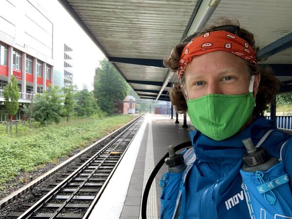 Don't forget your face mask while riding on public transit!