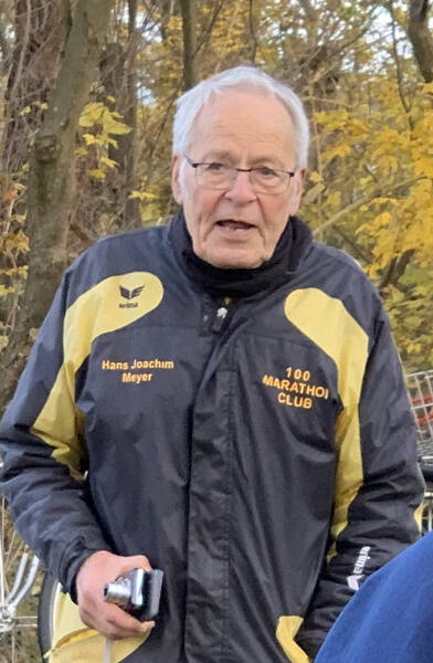 Hans Joachim Meyer used to be the first chairman of Germany's 100 Marathon Club