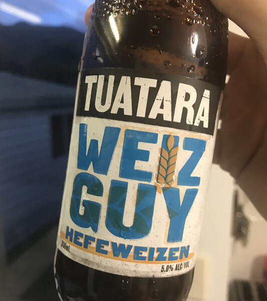 A good old German Hefeweizen from New Zealand