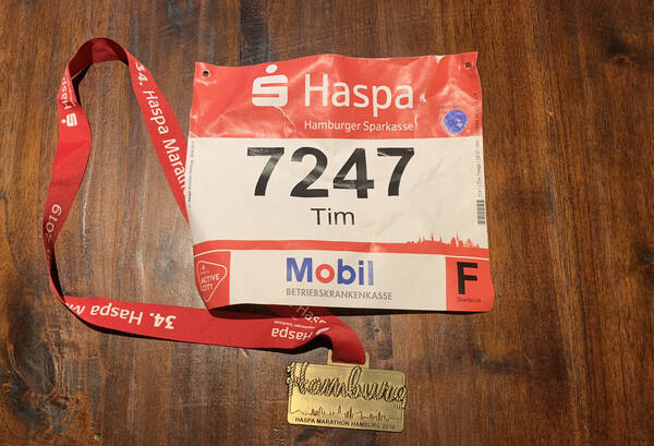 This year's medal and number – hanseatic understatement