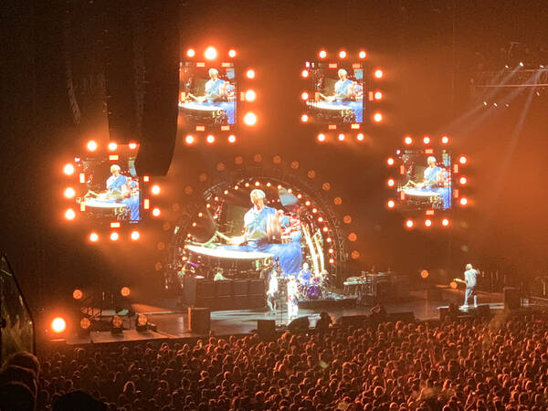 The mighty Chili Peppers at Auckland's packed Spark Arena