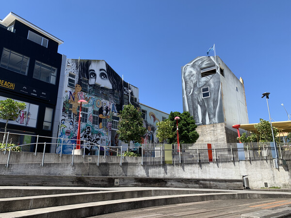 New Plymouth street art