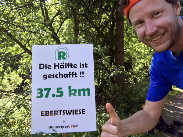 Halfway there, here on Ebertswiese